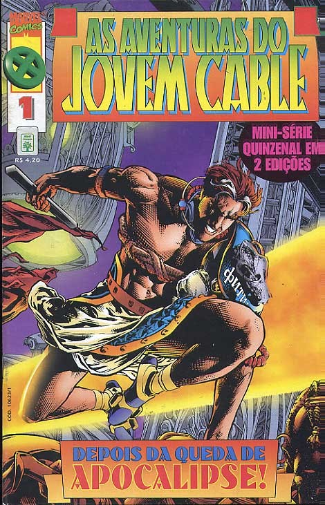 As Aventuras do Jovem Cable(Completa 1, 2)