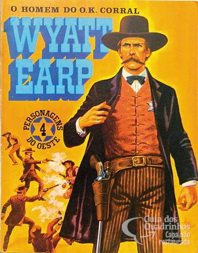 Personagens do Oeste - Wyatt Earp