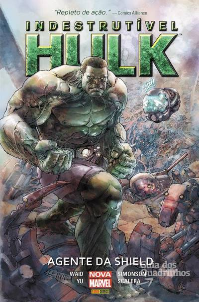 Marvel Deluxe: O Indestrutivel Hulk - Agente da Shield(Produto Novo)